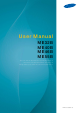 Samsung ME55B User Manual