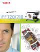 Canon iPF720 - imagePROGRAF Color Inkjet Printer Brochure & Specs