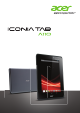 Acer A110 User Manual