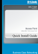 D-Link DWL-7130AP - xStack - Wireless Access Point Quick Installation Manual