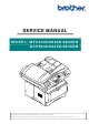 Brother DCP 8040 - B/W Laser - All-in-One Service Manual