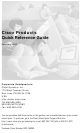 Cisco DOC 785983 Quick Reference Manual