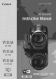 CANON VIXIA HF R400 Instruction Manual