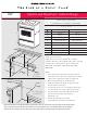 Jenn-Air SVE47500 Instructions