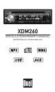 DUAL XDM260 OWNER'S MANUAL Pdf Download.