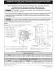 Kenmore KENMORE ELECTRIC WALL OVEN Installation Instructions Manual