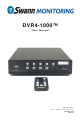 Swann DVR4-1000 User Manual