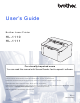 Brother HL-1110 User Manual