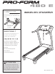 ProForm 480 E Treadmill Manual