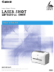 Canon LBP3200 User Manual