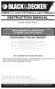 Black & Decker DS321 Instruction Manual