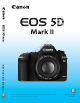 Canon EOS 5D Instruction Manual