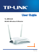 Tp Link TL-MR3420 User Manual