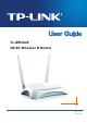 Tp Link TL-MR3420 User Manual