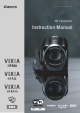 Canon VIXIA HF R400 Insrtruction Manual