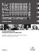 Behringer ULTRAGRAPH PRO FBQ1502 Quick Start Manual