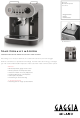 Gaggia 1 Manual