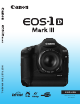 CANON EOS 1D Mark III Instruction Manual
