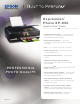 Epson Expression Photo XP-950 Specifications