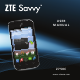 zte Savvy Z750C User Manual
