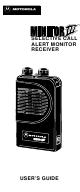 motorola minitor iii manuals rh manualslib com Motorola Minitor IV Motorola Minitor IV