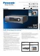 Panasonic WJ-HD716 Specifications