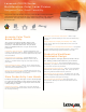 Lexmark CX310 series Specifications