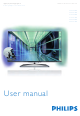Philips 47PFL7008 User Manual