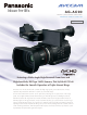 Panasonic AG-AC90 Quick Manual