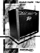 Peavey Audition 110 Operating Manual