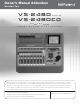 Roland VS-2480 Owner's Manual