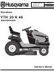 husqvarna yth 20 k 46 operator s manual pdf download Husqvarna YTH21K46 Manual Husqvarna YTH20K46 Drive Belt Diagram