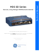 GE MDS SD Series Technical Manual