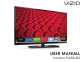 Vizio E420i-B0 User Manual