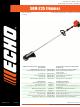 Echo SRM-225 Parts Catalog