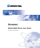 Inter-Tel AXXESS 8620 User Manual