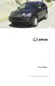 Lexus HYBRID RX400h Overview
