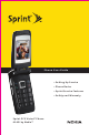 Nokia Sprint PCS Vision 6165i User Manual