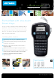 DYMO LabelManager 160 Features & Specifications