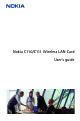 Nokia C110 User Manual