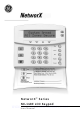 GE NX-148E - Security NetworX LCD Keypad User Manual