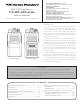 Vertex Standard VX-410 series Service  Manual