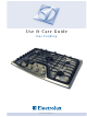 Electrolux Gas Cooktop Use & Care Manual