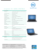 Dell Inspiron 15 Specification