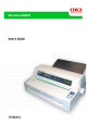OKI 8480 FB User Manual