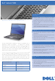 Dell D630 - LATITUDE ATG NOTEBOOK Specifications