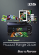 Epson Expression Home XP-100 Range Manual