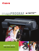 Canon imagePROGRAF iPF6300 Specifications