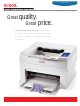 Xerox 3124 Detailed Specifications