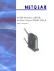 NETGEAR DGN2200v3 User Manual